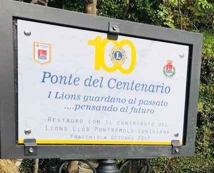 Targa Ponte del centenario